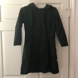 Vintage 1960s green mini mod dress